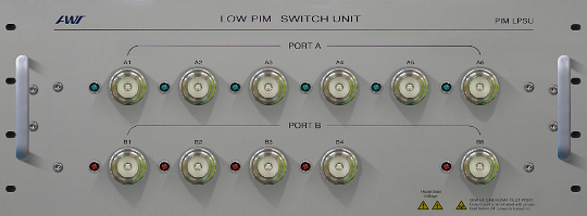 LPSU. Low PIM switch matrix